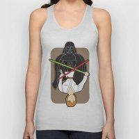 Darth Vader and Luke Unisex Tank Top