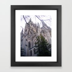 National Cathedral Framed Art Print