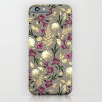 iPhone & iPod Case featuring Flowers & Sea Shells by Marlene Pixley