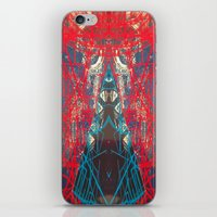 FX#505 - Kryptonian Oblongated Lines iPhone & iPod Skin