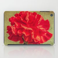 Red Carnation. iPad Case