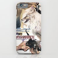 iPhone & iPod Case featuring The camel cried wolf by Mademoiselle Pea