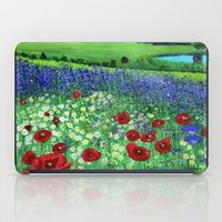 Blooming field iPad Case