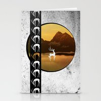 Stag On A Stroll  Stationery Cards