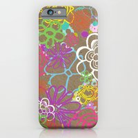Dancing Flowers iPhone 6 Slim Case