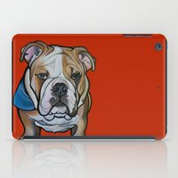 Johnny the English Bulldog iPad Case