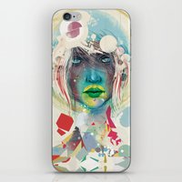 Broken - Light iPhone & iPod Skin