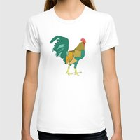 Greg Womens Fitted Tee White SMALL