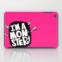 MONSTER ME iPad Case