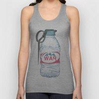 water bottle grenade  Unisex Tank Top