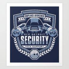 Compliance Enforcement Art Print