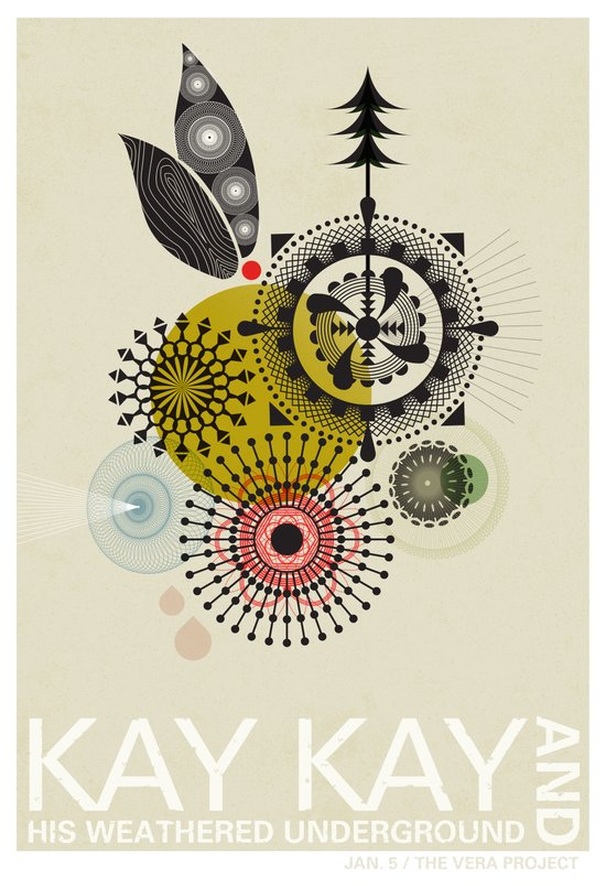 Kay Kay and His Weathered Underground Art Print