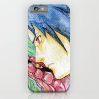 iPhone & iPod Case featuring Sasuke Watercolor by Vouschtein