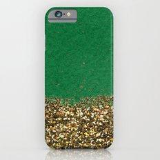Dipped in Gold, Emerald Slim Case iPhone 6s