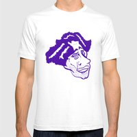 Looking Back Mens Fitted Tee White SMALL