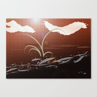Streamside Canvas Print