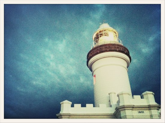 Lighthouse, Byron Bay Canvas Print