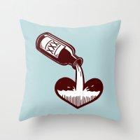 F. Scott Fitzgerald Throw Pillow