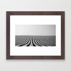 Wireframe Framed Art Print