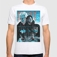 Blade Runner Mens Fitted Tee Ash Grey SMALL