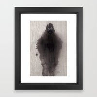 Darth Framed Art Print