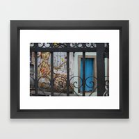 Salvador Street Art Framed Art Print