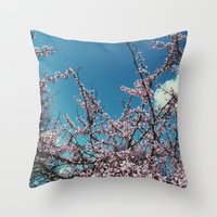 Throw Pillow featuring Spring by Whitney Retter