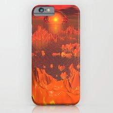 Space Islands of Orange Slim Case iPhone 6s