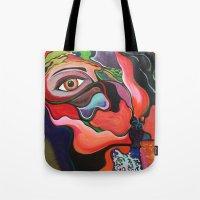 Eye Leaf Tote Bag