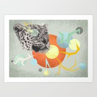 Big cats don't lie #2 Art Print