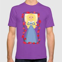 Sleeping Beauty Mens Fitted Tee Ultraviolet SMALL