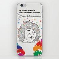 La Vida Es Un Carnaval iPhone & iPod Skin