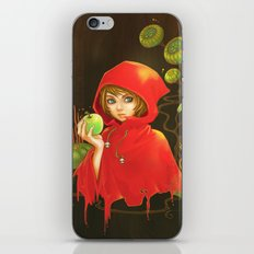 Poison Apple & A Little Red Hood iPhone & iPod Skin