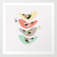 Birdo Art Print