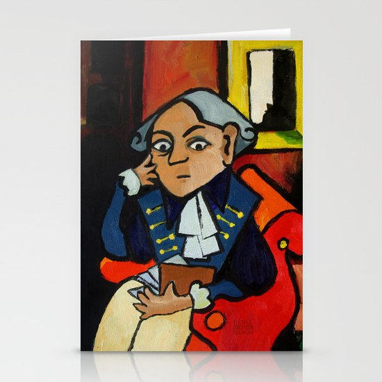 Immanuel Kant Stationery Card