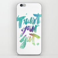 Trust Your Gut iPhone & iPod Skin