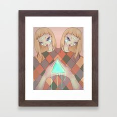 You and I Framed Art Print