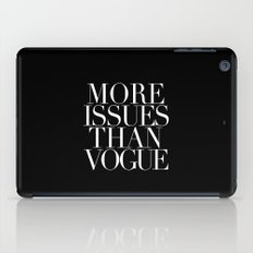 MORE ISSUES iPad Case