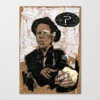 Tom Waits? Canvas Print