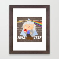 Isaac Newton Framed Art Print