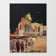 Software Road Canvas Print