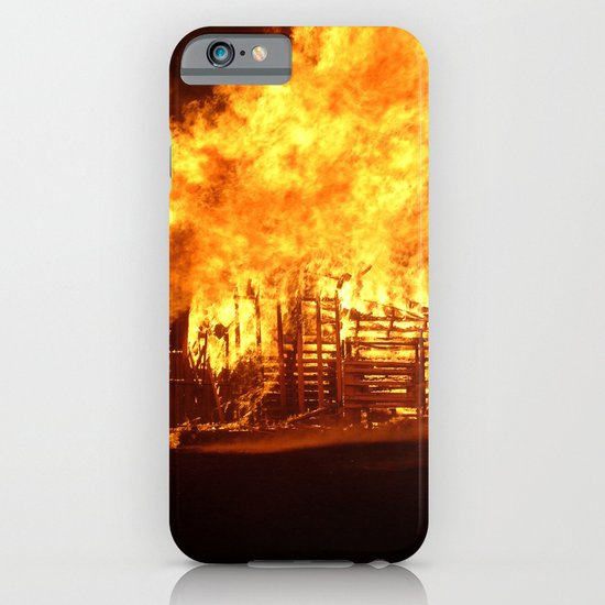 Burning Down the House iPhone & iPod Case