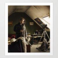 John Watson In The Museu… Art Print