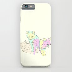 3 Channel Island Foxes Slim Case iPhone 6s