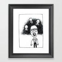 Nutty Rhi Framed Art Print