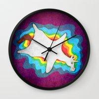 Unicorn Rug Wall Clock