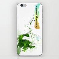 Women with design iPhone & iPod Skin