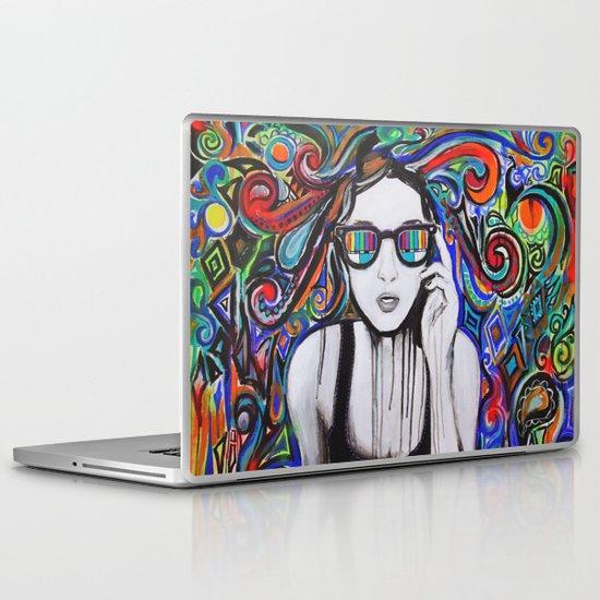 Think in Technicolor Laptop & iPad Skin