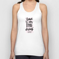 Love Destiny - Thomas Merton Unisex Tank Top