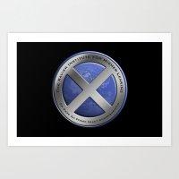 X-Men: First Class: Xavi… Art Print